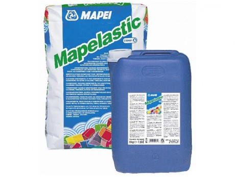 Гидроизоляция двухкомпонентная Mapei Mapelastic 32 кг