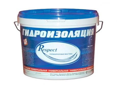 Гидроизоляция обмазочная Респект (5кг)