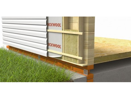 Роквул для стен Ветро-влагозащитная мембрана (70м2)
