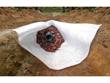 Геотекстиль иглопробивной нетканный Дорнит 150 г/м² (2х50м)