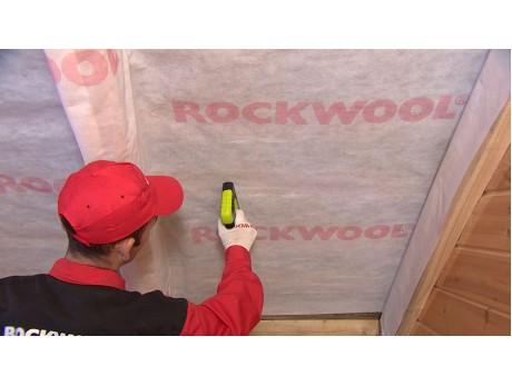 Роквул пароизоляционная мембрана для кровли, стен и потолка (30м2)
