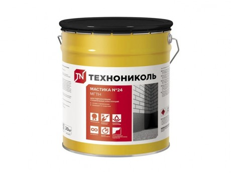 Мастика битумная ТехноНИКОЛЬ № 24 (МГТН) 20 кг