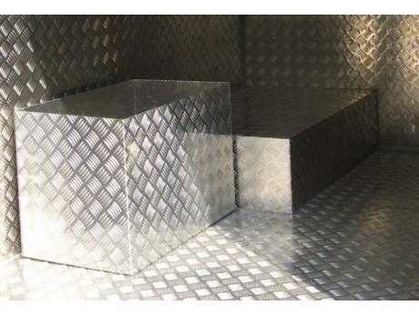 Лист рифленый стальной 1250x2500x3мм