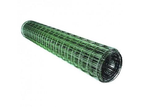 Сетка сварная С ПВХ покрытием 100х50х2мм (1.5х15м)
