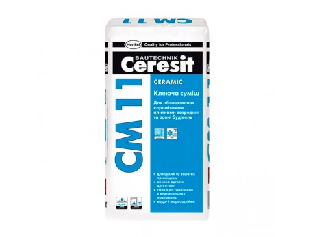 Плиточный клей Церезит СМ-11 (25кг)