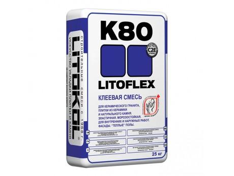 Клей для плитки Литокол Litoflex K-80 (25кг)