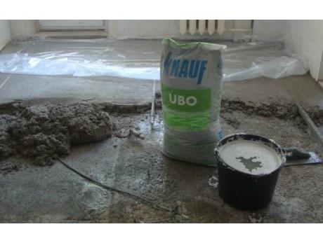 Легкая цементная стяжка Кнауф Убо (25кг)