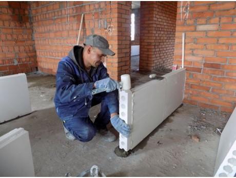 Монтажный клей для газобетона Волма Блок (25кг)