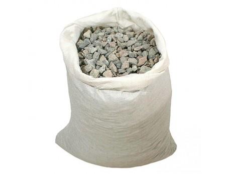 Щебень гравийный в мешках фракция 5-20мм (25кг)