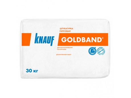Штукатурка гипсовая Knauf Goldband (30кг)