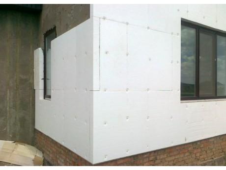 Пенопласт С-25 Фасад утеплитель 2000х1000х100мм (2м2)