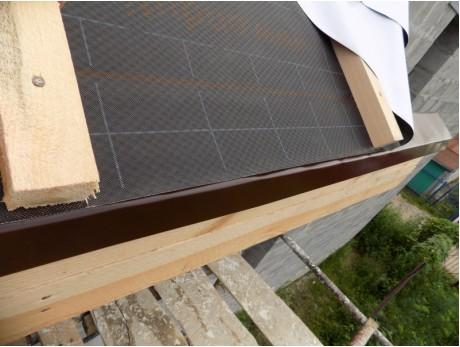 Фартук фронтонный (торцевой) S5 2000х90х30х60мм